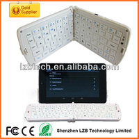 High quality folding bluetooth keyboard for galaxy table pc mini Portable keyboard