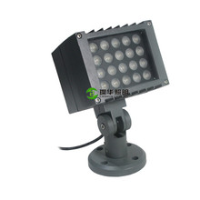 park outdoor square <strong>projector</strong> waterproof DC24V RGBW 16W 36W led DMX512 flood light