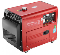5kva 5kw diesel power generator with electric start