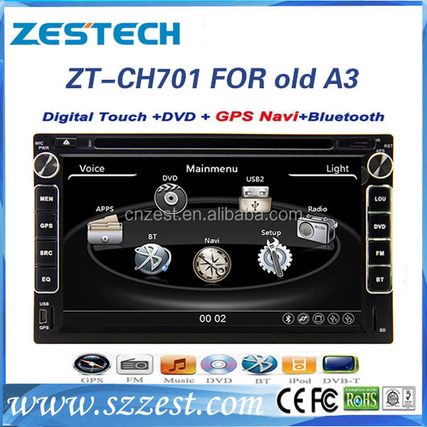 car cassette and cd dvd and gps for Chery A516 M11 M12 stereo multimedia radio GPS DVD player