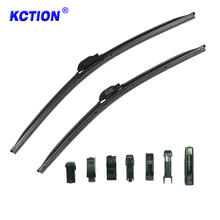 Trade Assurance 1+6 adaptors multifunctional natural rubber soft auto windshield wipers