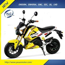 High Speed 3000w electric motorbike EEC approval electric motorcycle racing electric motorcycle