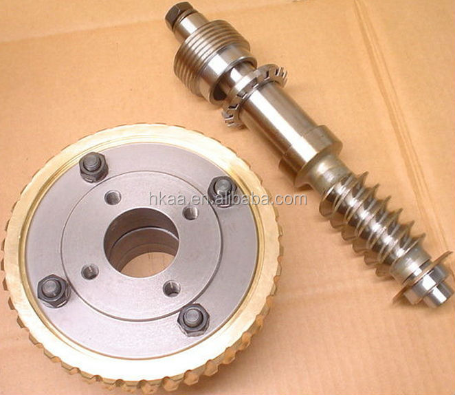 iso oem brass worm gear gear for paper shredder supporter special custom service provided