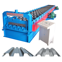 High precision panel floor deck sheet roll forming machine