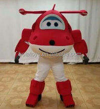 Hola red adult airplane costume/mascot costume/costume