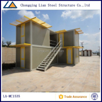 Two Story House Designs prefabricated sandwich panel container house