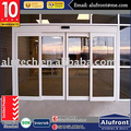 Aluminium Sensor Glass Sliding Commercial Door