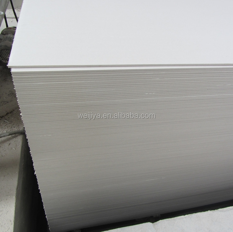 Prices fireproof gypsum board / plasterboard