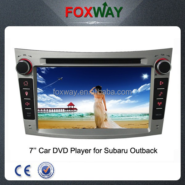 Wholesale double din car head unit for subaru outback with gps/dvd/bluetooth/TV/ipod/3G