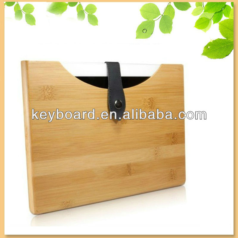 handmade natural wood cover for apple ipad 2/3/4