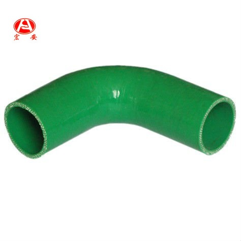 Green Silicone Rubber Elbow Hose