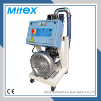 Plastic pellet automatic vacuum loader for blow molding machine