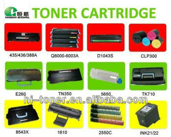 NEW! HOT! laser printer toner ink cartridge for hp 435/436 /278/388a q6000a-6003a printer ink toner cartridge for hp