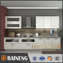 modern stainless steel kitchen cabinet simple design with good kitchen cabinet factory price