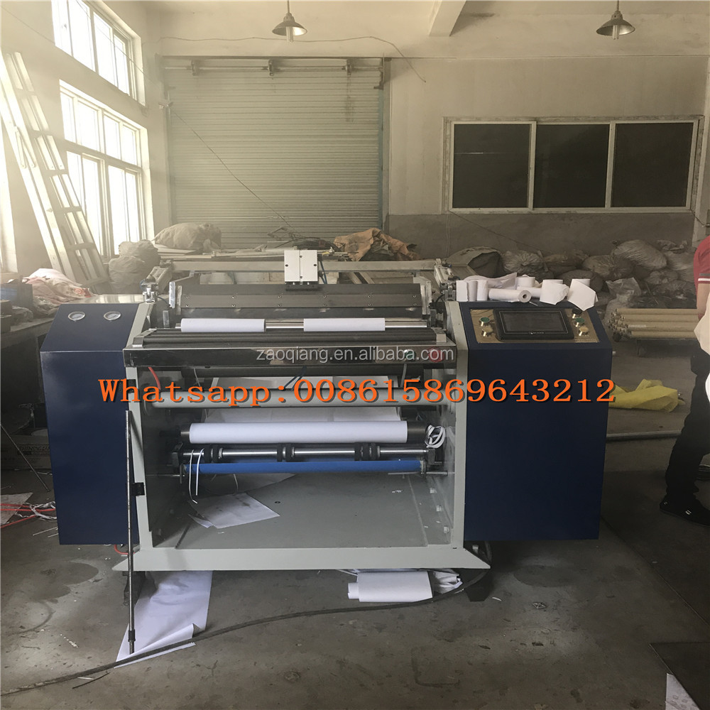 Small Thermal Paper Sliting and Rewinding Machine For Making Cash Register/ATM/POS Roll