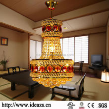 Fancy Chandlier Chinese Goods Chanderliers Light Crystal Gold Chandelier