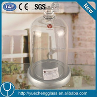 26cm glass cake dome cover and dmx super led dome plus glass cake dome