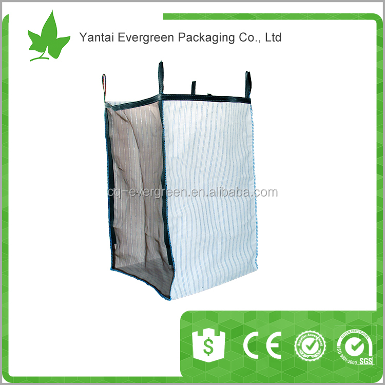 Wholesale china manufacturer 100% virgin resin polypropylene big bag/ FIBC pp woven 1 ton jumbo bulk bag/ super sack/ ton bag