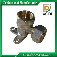 Excellent quality unique Wall Mounted Brass Pex Pipe Fitting