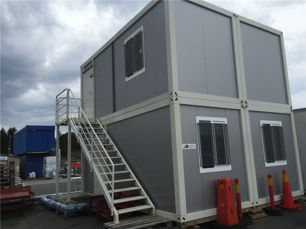 Economical Container Side container homes for saleprefabricated residential houses russia