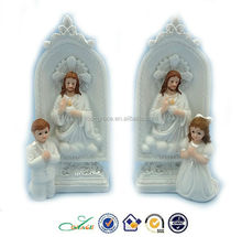 2015 Holy communion praying boy and girl with Jesus unique christian gifts