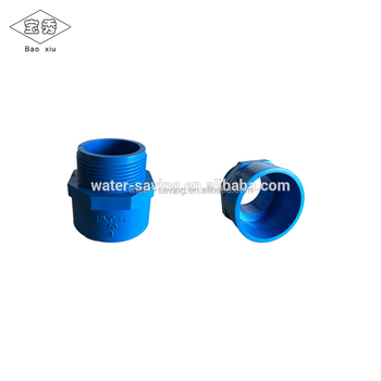 Fittings Type and Plastic Material PVC male thread connector for agriculture irrigation system