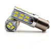 White Car 1157 BA15D 27SMD 5730 LED Brake Light Stop Light Bulb