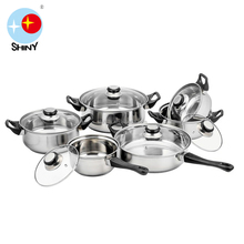 Aluminum Capsule Bottom Cookware Set