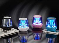 2015 home theater music system with LED light mini bluetooth wireless speaker
