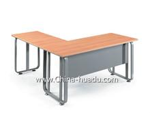 Commercial Furniture Wooden Top Metal Leg Office School Exam Home Desk Laptop Table Good Price