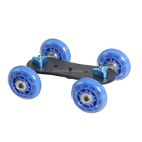 YELANGU High Level Four-wheel Mini Dolly B Slider Rail Cars