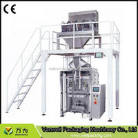 Plastic bag ice cube packaging machine