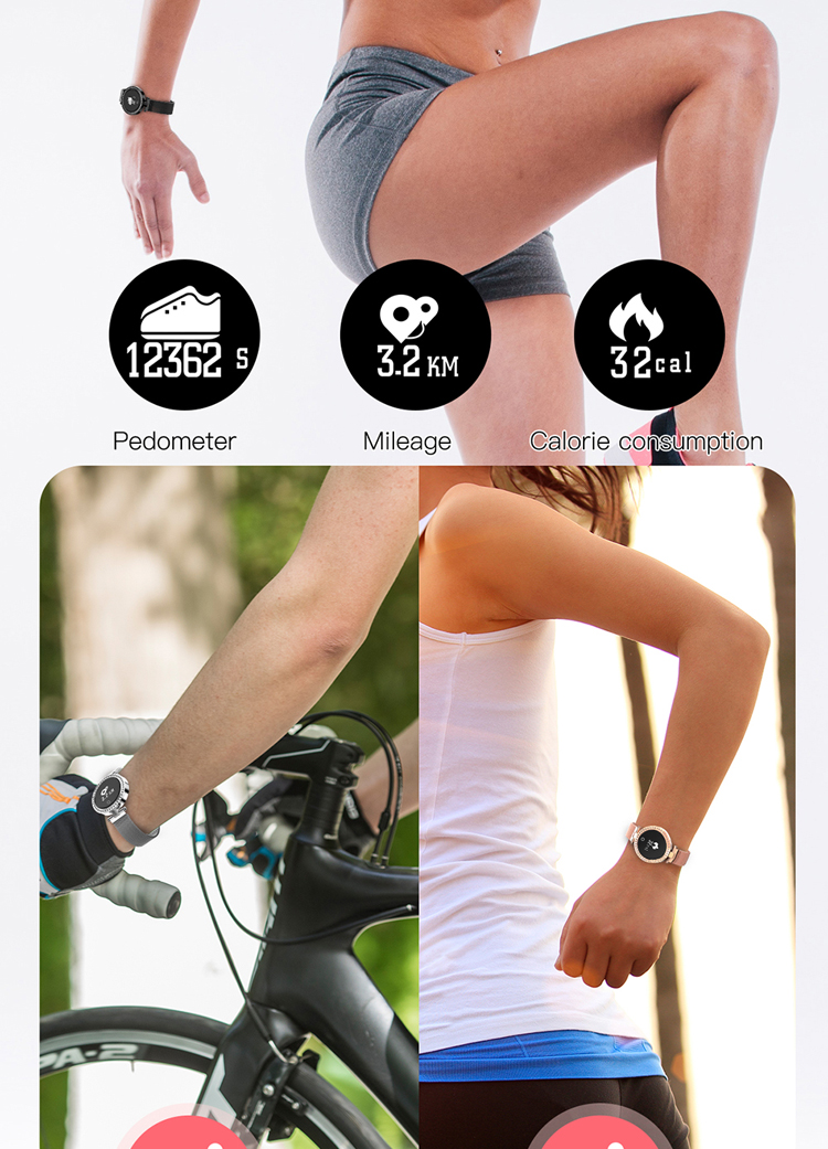X10 RTS Fitness Tracker Sport Sleep Monitor Fitness Tracker Lady Smart Bracelet