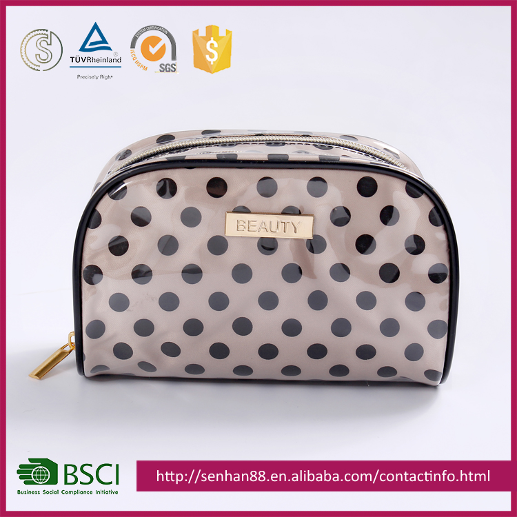 2017 New Fashion Design Dot the makeup bags/Makeup Pouch
