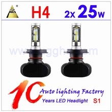 auto parts, Super bright led headlight bulb h4 80w 40w 12v 8000LM led bulbs h7 led car headlight h1 h3 h4 h11 h13 9006 9005