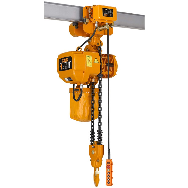 Manufacturer Price Material Lifting Excel Engine Hoist with Suspended Platform