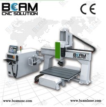cnc carving machine,5 axis cnc router, new condition 2015 China 5xis rotary table