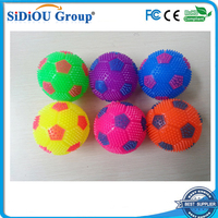 sparkle lighted globe bouncing ball