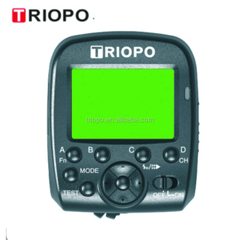 TRIOPO G1 TTL wireless trigger transmitter ,remote control with high speed synce 1/8000s for Canon and Nikon