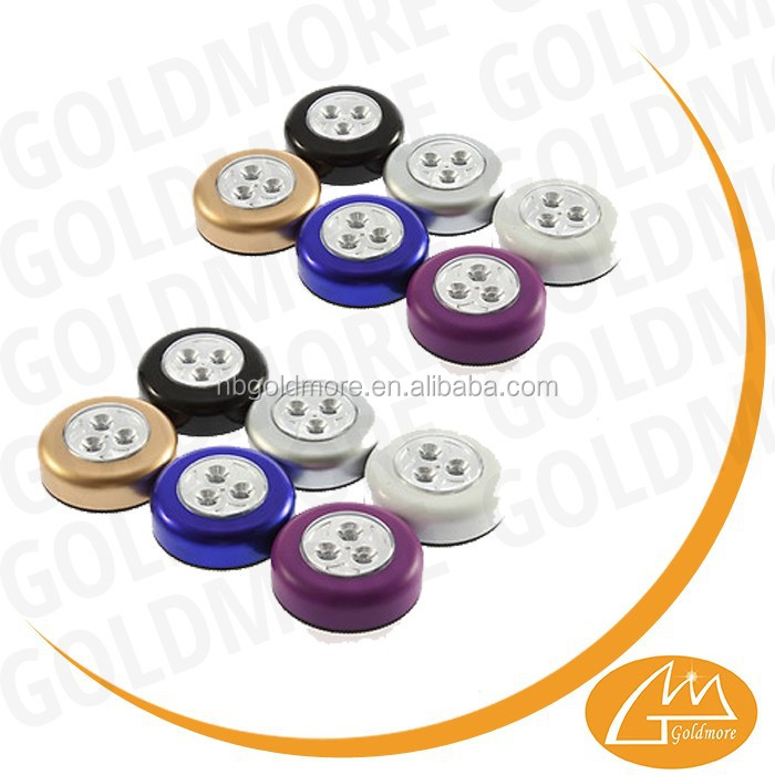 Goldmore1 led round push light led mini push light mini led button lights