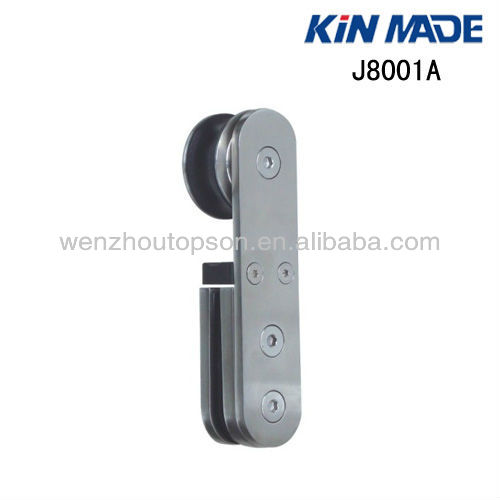 Glass sliding door pulley/shower door roller/stainless steel hanging wheel