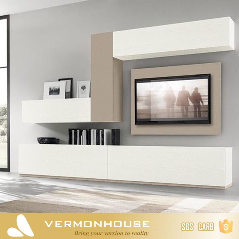 Vermonhouse High Gloss New Model TV LCD Wooden Cabinet Designs