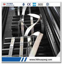 black coating ASTM A53 Seamless Carbon black Steel Pipe