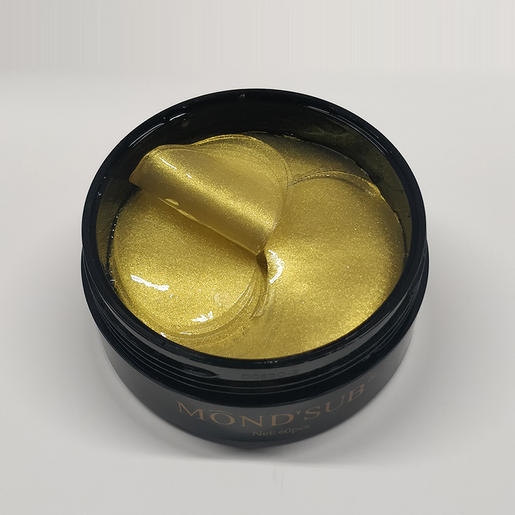 Private Label <strong>Manufacturer</strong> Oem Skin Care Custom Hyaluronic Cool Collagen Crystal Eye With Gel Beads <strong>Q10</strong> Undereye Mask