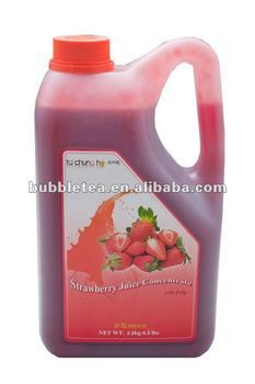 2.5kg TachunGhO Prime Strawberry Juice Concentrate