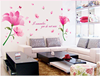 AY9197 romantic fashion dream flower Wall Sticker 60*90