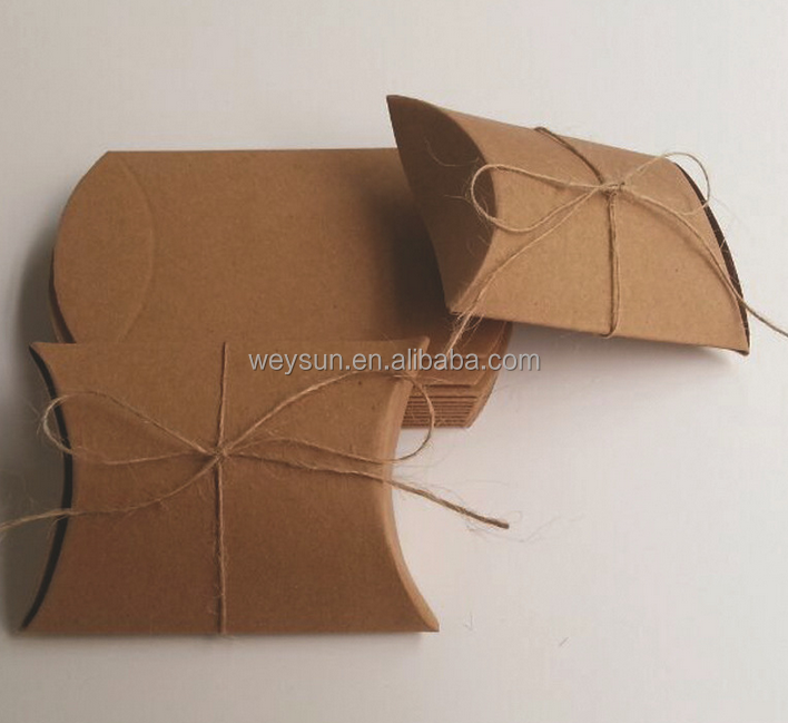 9*7*2.4cm Pillow shape paper box gift box wedding candy <strong>boxes</strong>