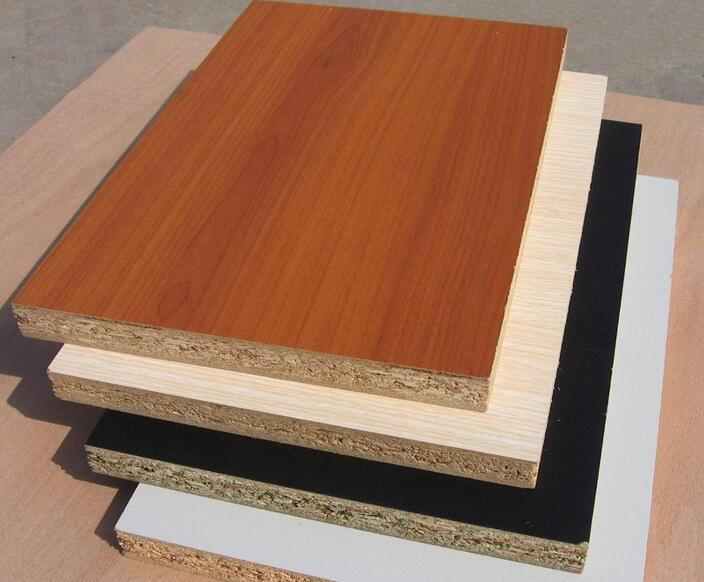 prices for particle board /pine wood chips /color melamine particle board