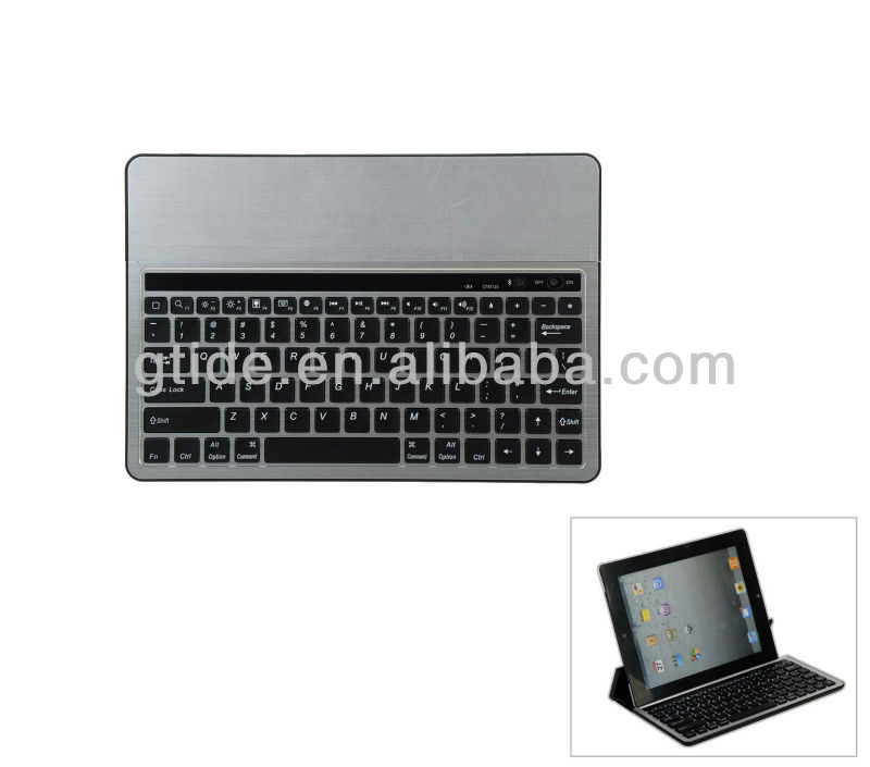 Gtide Bluetooth Keyboard for Samsung Galaxy Note 10.1with Foldable Stand Multi-Operation System Aluminum Bluetooth Keyboard