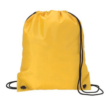Wholesale cheap custom Nylon polyester gym drawstring bag for packing